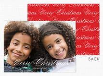 """Merry Christmas"" Holiday Photo Cards"